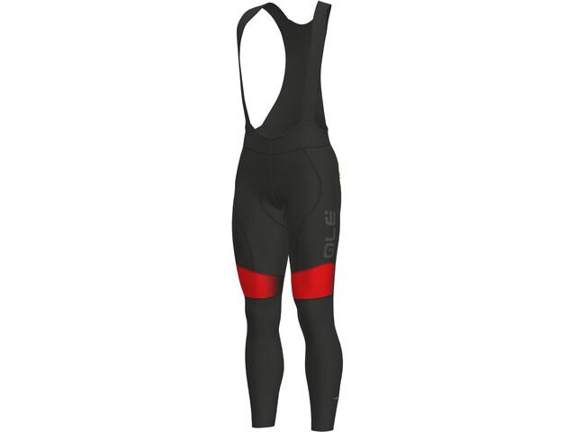 Alé Cycling PR-S Dots WR Bib Tights Herren black-red